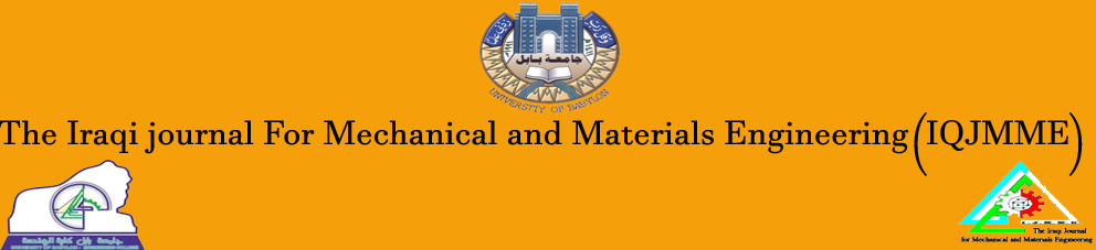 The Iraqi Journal for Mechanical and Materials Engineering (IQJMME)